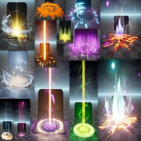 Niagara AOE Effects Pack 01