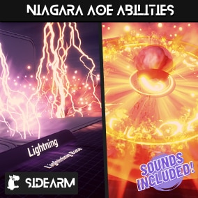 27 (9 Unique Classes) Niagara AOE Ability Particles + Sound effects That Will Take Your Game To The Next Level!