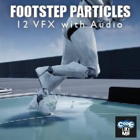 Niagara based Foot Step VFX