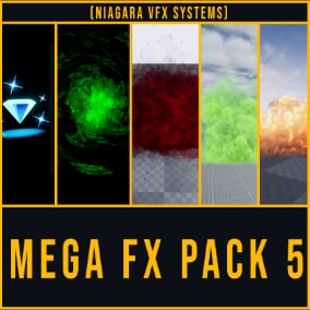 Niagara Mega VFX Pack vol. 5