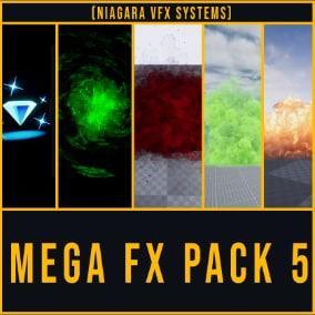 Niagara Mega VFX Pack vol. 5
