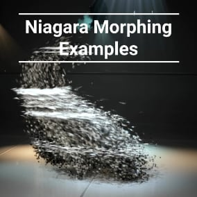 Morphing Examples with using the Niagara Systems