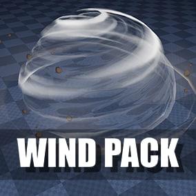 11 unique Niagara wind effects