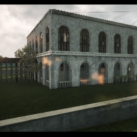 European grey house components, you can use the modules I provide to play creative, to create your own house