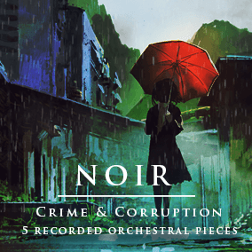 5 beautifully orchestrated and recorded musical tracks! Great for mystery, horror visual novel and detective game!