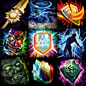 A pack of 416 PNG 256x256 handpainted icons for your game