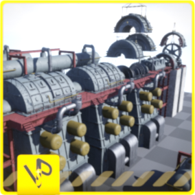 91 high-quality industrial models  are perfect for your industrial projects.