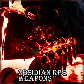 This pack contains eight models perfect to round out the arsenal of any RPG. Six are melee weapons, and two are shields. All are made of obsidian and lava. They are well suited to pyromancers or fire elementals. They come with optional aura fx materials.