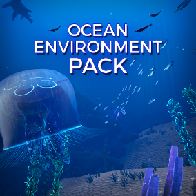 The perfect Ocean pack to suit your needs, including an abundance of Creatures, Plants and underwater Effects!