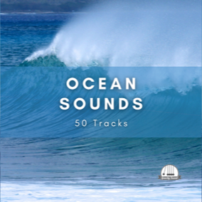 A collection of 50 ocean loop tracks, each 1 minute in length.