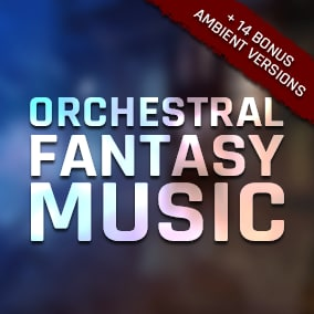 A collection of 11 full orchestral songs featuring realistic renaissance / medieval era instrumentation