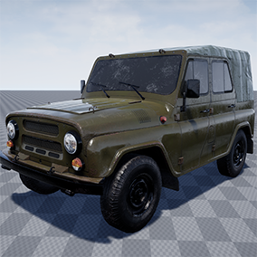 Off-road military light utility vehicle