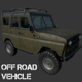 Off-Road Vehicle for military and civil use.