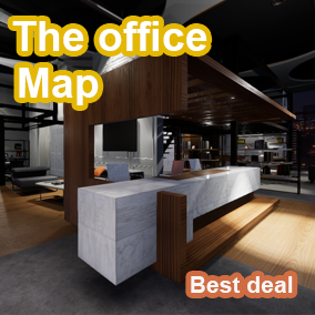 This project includes an Internal office with all assets, Mat, created in UE4. AAA quality visuals, The office contains a number of props and objects designed for office projects and visualizations, Game design and architectural purposes