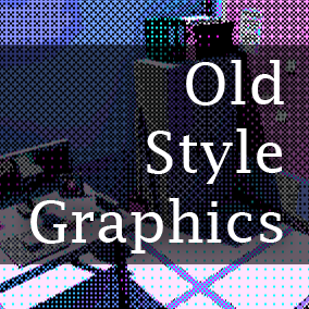 Old Style Graphics is a set of Post Process Materials that will make your game look as if it was made long time ago.