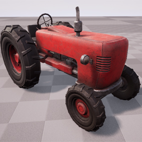 High Quality Old Tractor Model