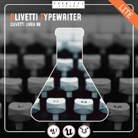 Recording of the Olivetti Linea 98 manual typewriter, known at the time to be the most expensive on the market.