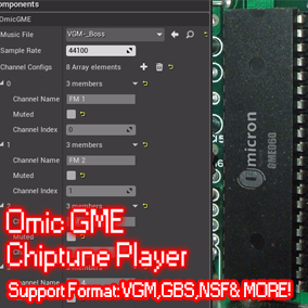 Chip tune format player plugin for UE4