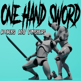 Collection of one hand sword attacks and finishers