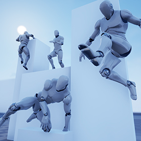 A set of over 400 motion capture animations for your Open World character.