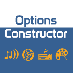 Options Constructor is the set of widget blueprints and single actor component which will help you add desired settings to your game.