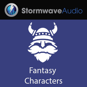 A set of 142 humorous fantasy creature voice effects.