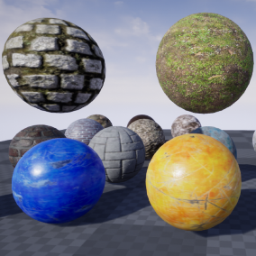 17 PBR Materials that coming in 2K, 4K and 8K resolution.