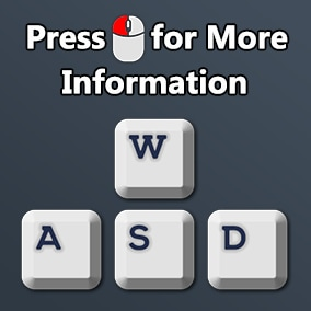 Keyboard and mouse icons pack with decorator for placing icons inline through a rich text widget.