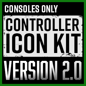 The Consoles Only: Controller Icon Kit contains over 350 unique handcrafted flat icons. The perfect kit to kickstart your UI interface adventure!