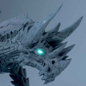 ***Included Inside Elemental Dragons Pack***  Here is the Polar Dragon. This amazing beast can be found in the coldest region and his frozen breath attack can be devastating.