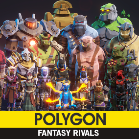 Synty Studios Presents -  Polygon Fantasy Rivals