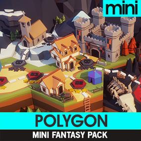 Synty Studios Presents - Polygon Mini's - Fantasy Pack. Cute miniature versions of our popular POLYGON Fantasy Series!