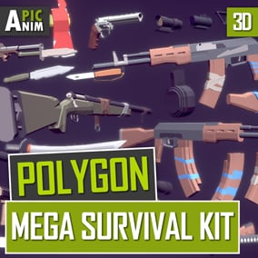 A large package for developers of post-apocalyptic survival games.