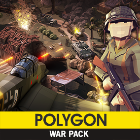 Synty Studios Presents - Polygon - War Pack. An Action themed asset pack.