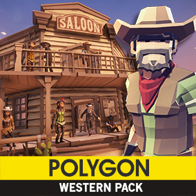 Synty Studios Presents: POLYGON - Western Pack. A Western themed asset pack.