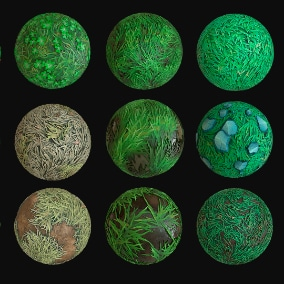This is a seamless pbr textures. Contains 15 Unique Textures.