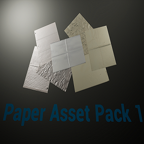 A material pack including a variety of paper materials to add additional detail to your project.