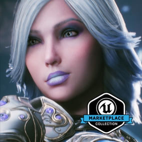 Licensed for use only with UE4 based products. Includes the character model, animations and skins for the Paragon Hero, Aurora.