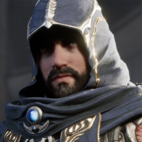 Licensed for use only with UE4 based products. Includes the character model, animations and skins for the Paragon Hero, Gideon.