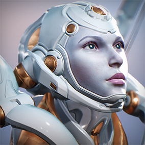 Licensed for use only with UE4 based products. Includes the character model, animations and skins for the Paragon Hero, Muriel.