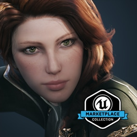 Licensed for use only with UE4 based products. Includes the character model, animations and skins for the Paragon Hero, Sparrow.