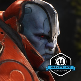 UE-Only Content - Licensed for use only with UE4 based products. Includes the character model, animations and skins for the Paragon Hero, Steel.