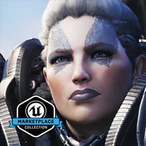 Licensed for use only with UE4 based products. Includes the character model, animations and skins for the Paragon Hero, Terra.