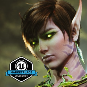 UE-Only Content - Licensed for use only with UE4 based products. Includes the character model, animations and skins for the Paragon Hero, The Fey.