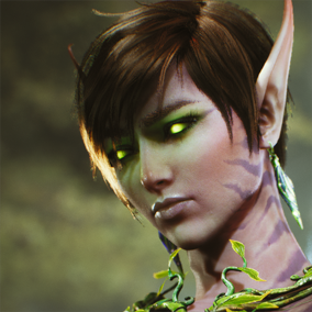 Licensed for use only with UE4 based products. Includes the character model, animations and skins for the Paragon Hero, The Fey.