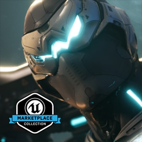 Licensed for use only with UE4 based products. Includes the character model, animations and skins for the Paragon Hero, Wraith.