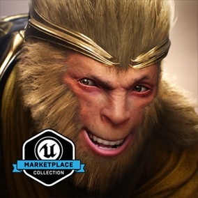 UE-Only Content - Licensed for use only with UE4 based products. Includes the character model, animations and skins for the Paragon Hero, Wukong.