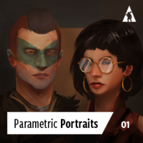 Parametric Portraits - create hundreds of custom, hand drawn portraits.