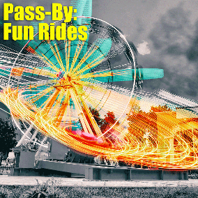 "Here comes the second extension to the Pass-By sound effects libraries. This time it's all about Fun Rides – mostly Roller Coaster Pass Bys. Recorded at ""Erlebnis Park Tripsdrill"""
