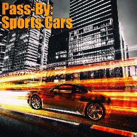 "Here comes the first extension to the PassBy sound effects libraries. Bringing you a truckload full off Sporty Cars Pass Bys. Recorded at ""Nürburg Ring"", Germany."
